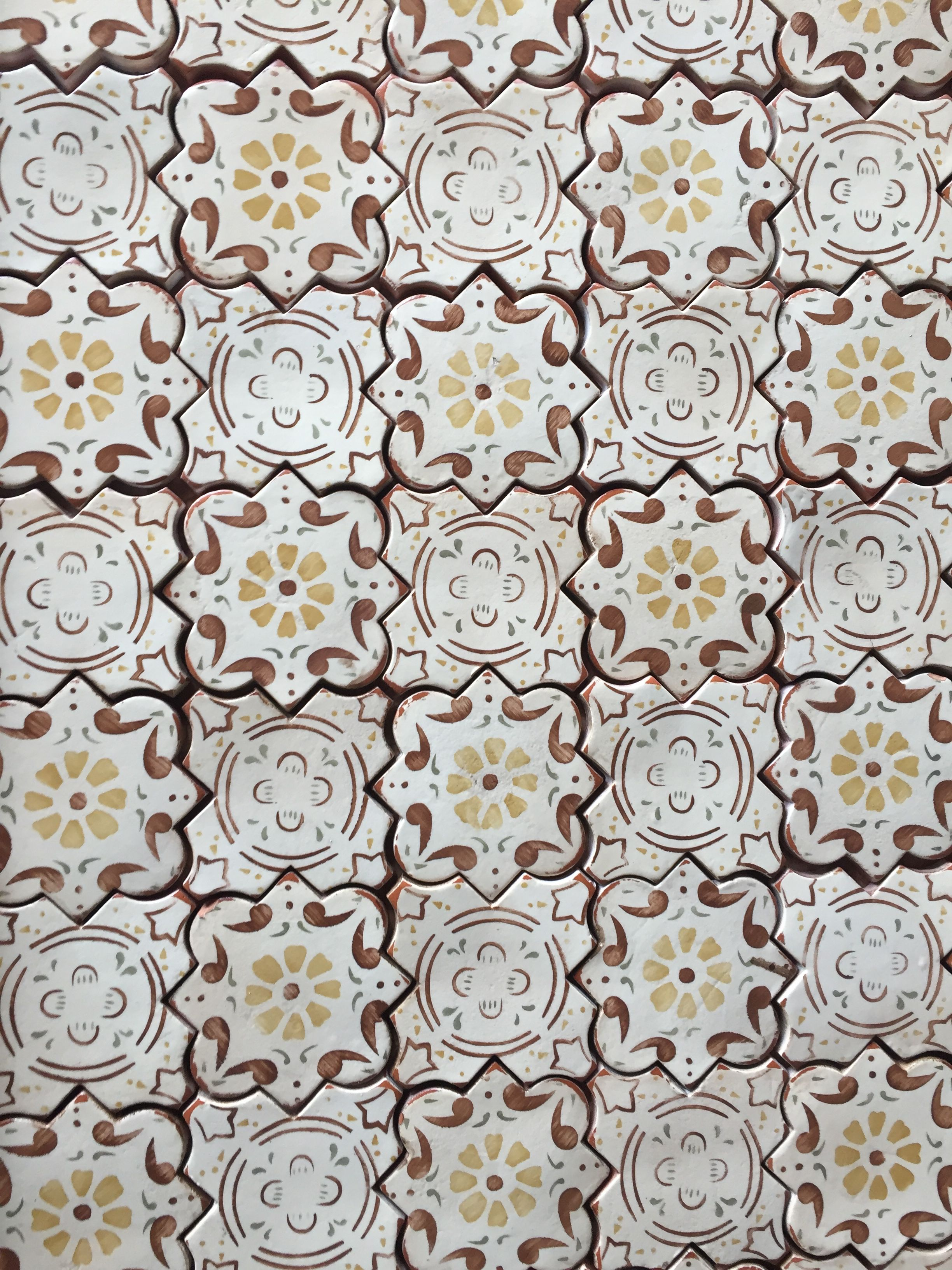 Artisan terracotta tiles mediterranean 26 in custom colors artisan terracotta tiles mediterranean 26 in custom colors suitable for backsplash and floor applications dailygadgetfo Images