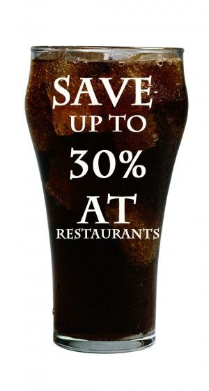 Simple way to save 30% when you dine out plus save your teeth.