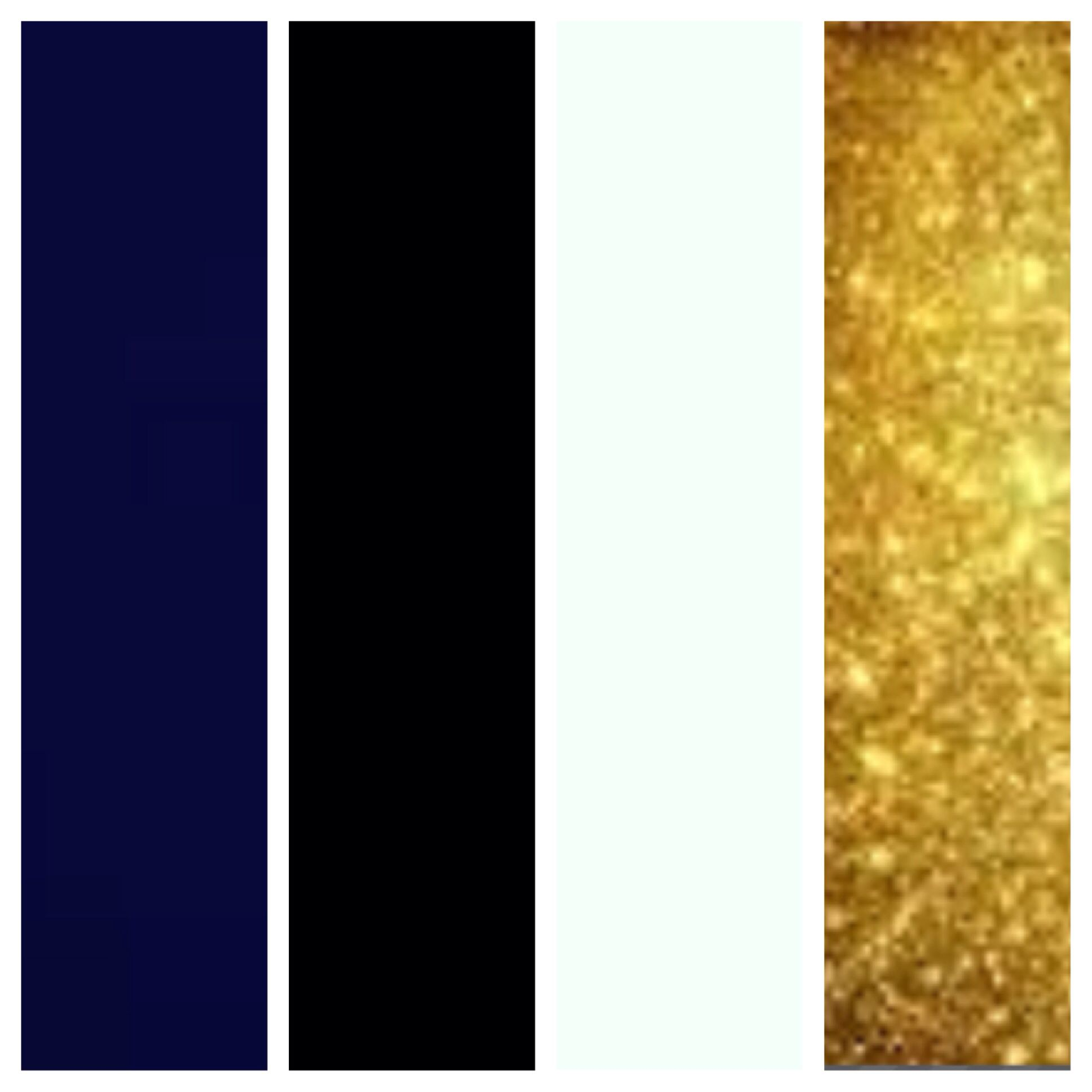 Perfect Wedding Colors Navy Blue Black White And Gold