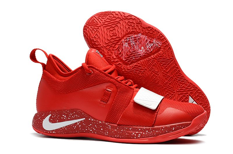 wholesale dealer 8edda 9349c Paul George's Nike PG 2.5 University Red/White Basketball ...