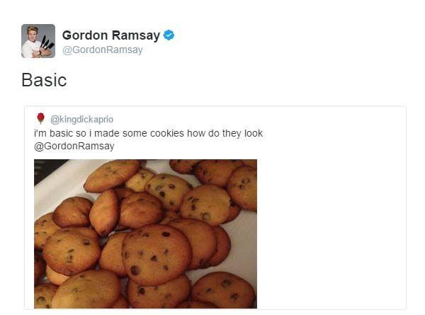 Gordon Ramsay Twitter Funny Basic Cookies Gordon Ramsay Gordon Ramsay Twitter Ramsay