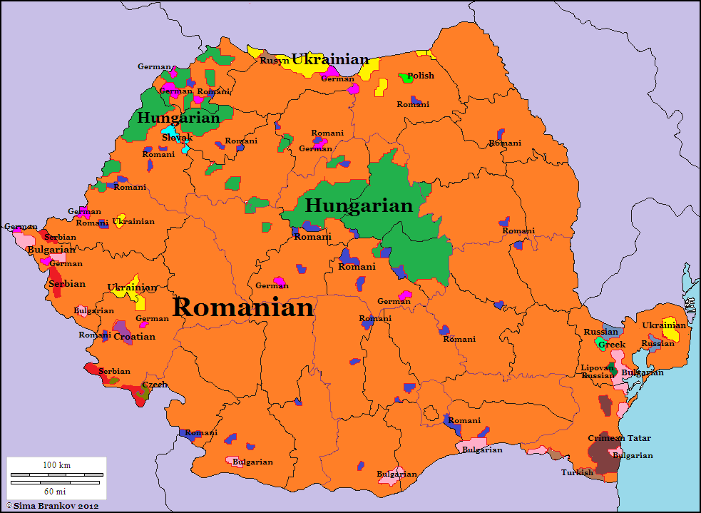 Romania World Map