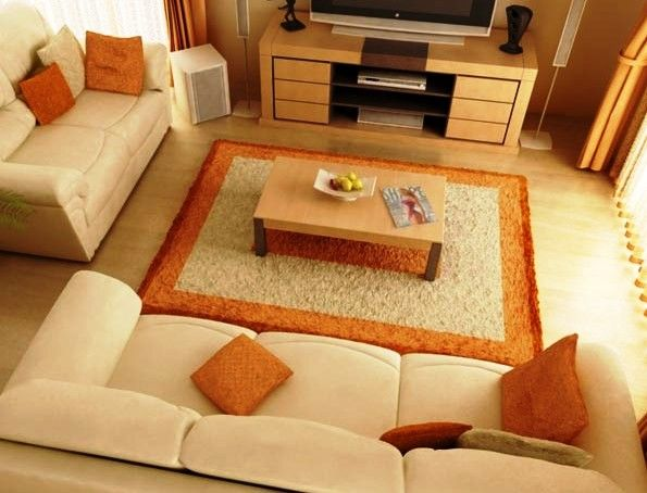 Small house decorating small hall decorate idea small for Simple living room designs in india