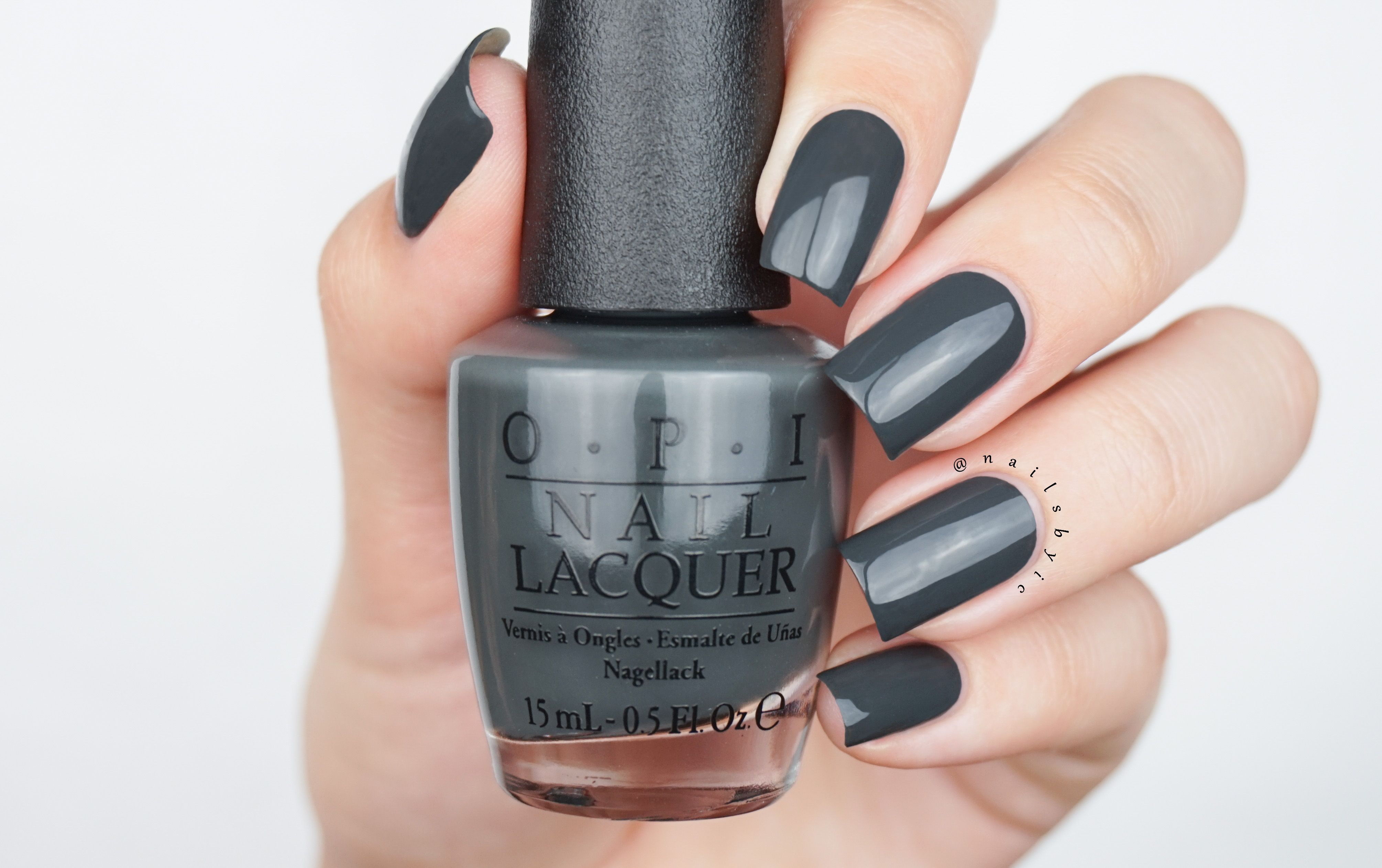 "Liv"" in the Gray from the OPI Washington DC fall/winter 2016 ..."