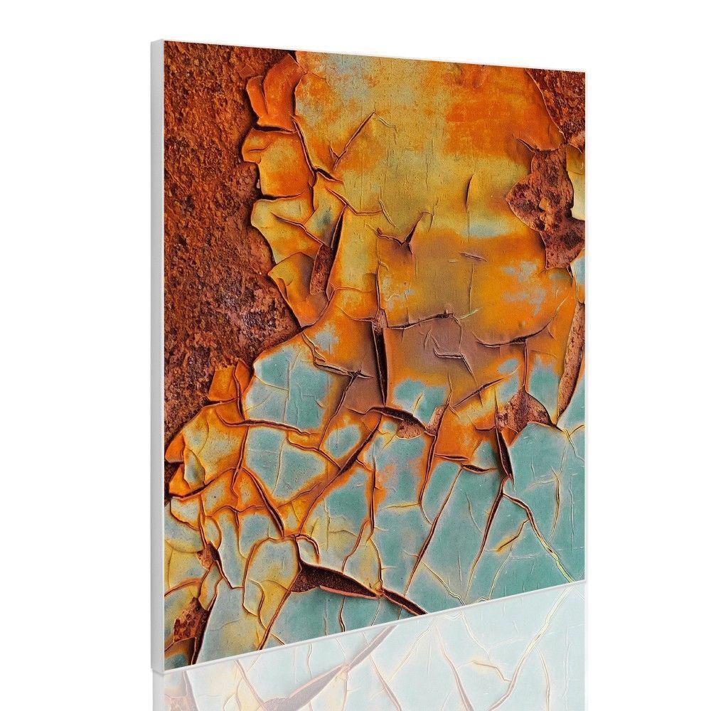 Pinnwand Magnettafel Küche 50x50cm Magnetwand mit Motiv Rost ...