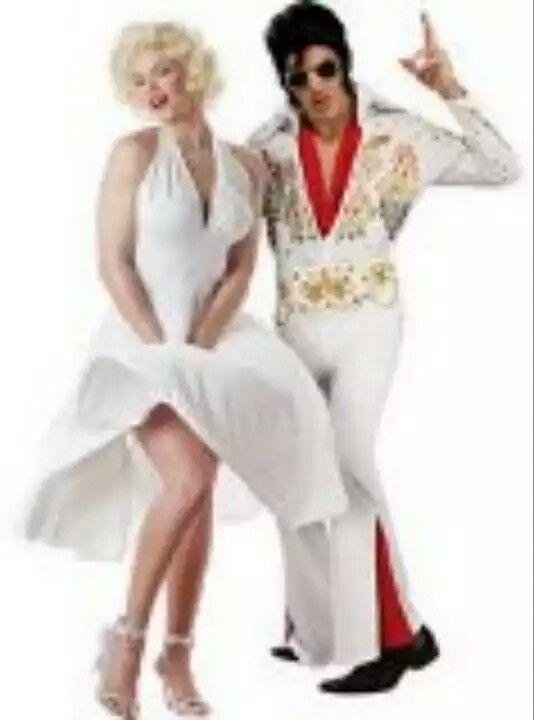 Marilyn y Elvis