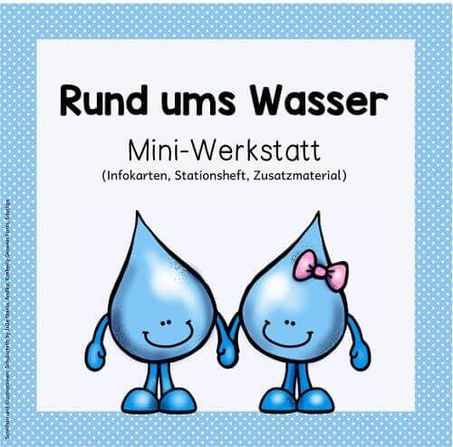 """Ideenreise - Blog   Mini-Werkstatt """"Rund ums Wasser"""" (Materialpaket)"""