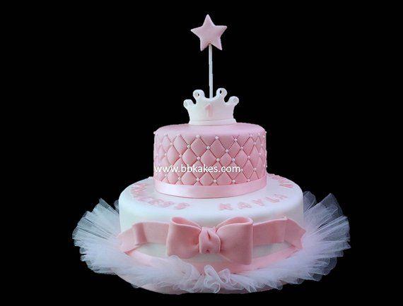 Enjoyable Wo Tier Princess Tutu Cake Bbkakes Ballerina Birthday Cake Tutu Personalised Birthday Cards Akebfashionlily Jamesorg