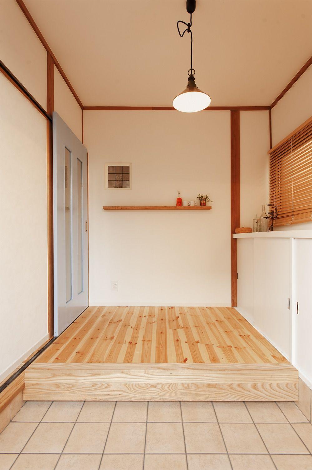 リフォーム リノベーションの事例 玄関 施工事例no 302古い中古住宅