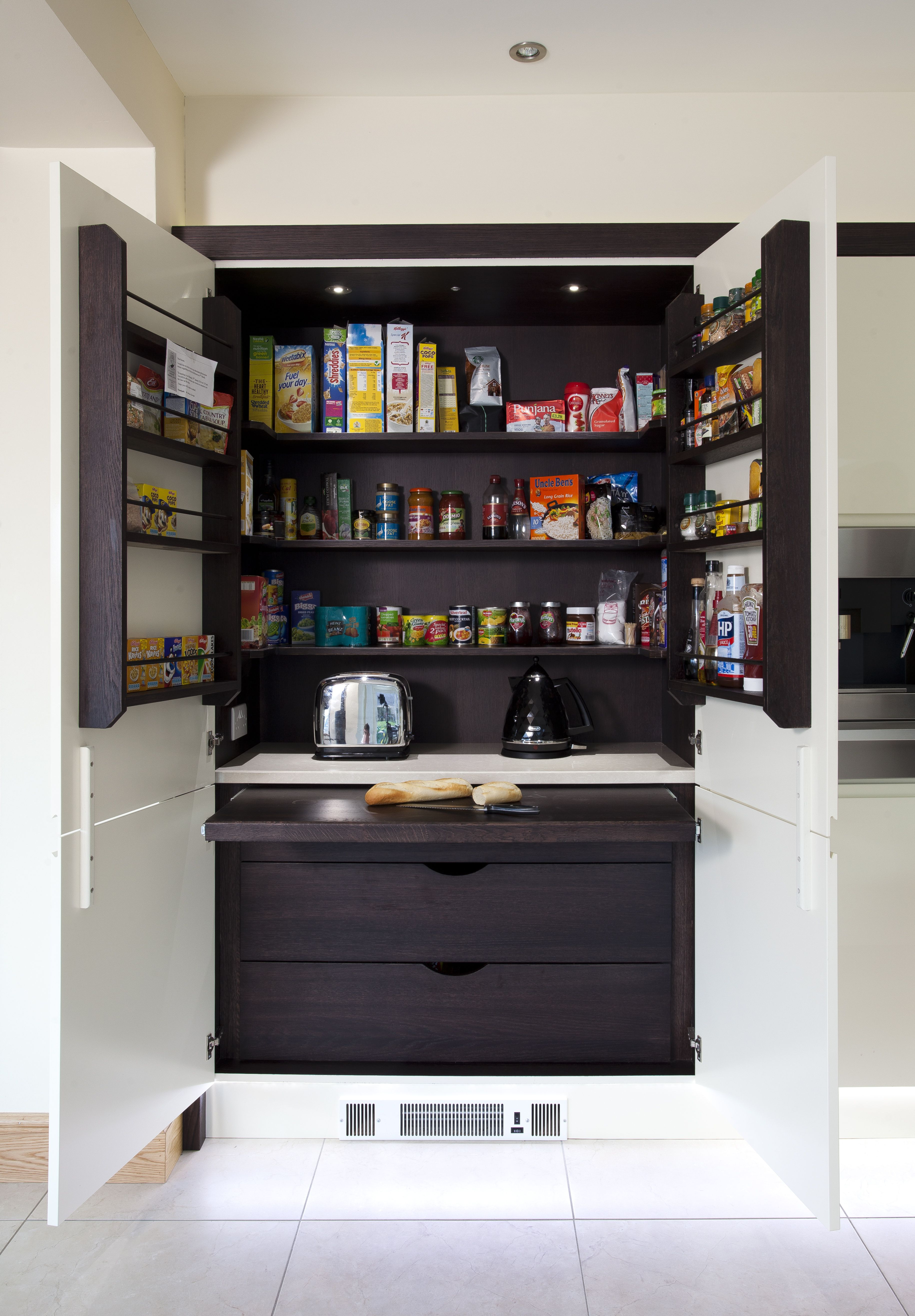 This 12M Pantry Larder Is Finished In The Same Rich