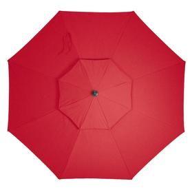 Simply Shade Red Offset 11-Ft Patio Umbrella Ag45rld-P19