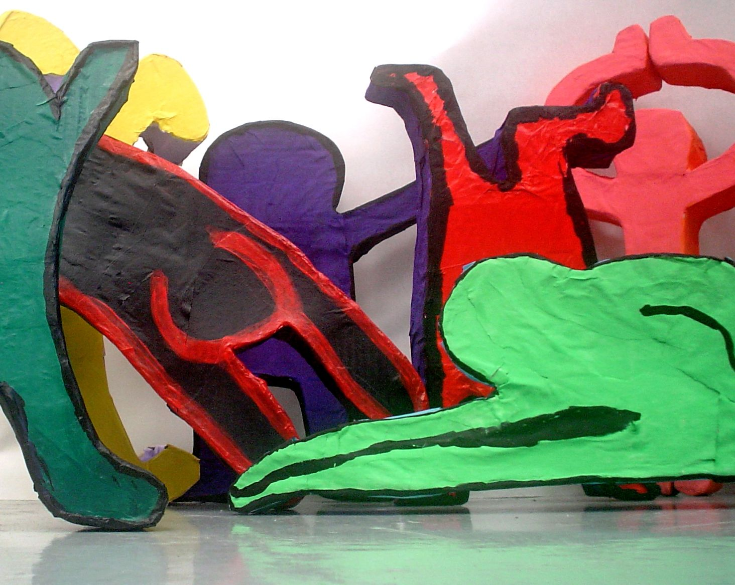 Lessons From The K 12 Art Room Keith Haring Sculptures