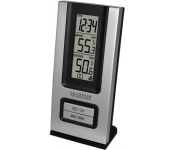 Wireless Thermometer By Lacrosse Ws 9117u In Out Temp Min Max Temp Dimensions Receiver Wireless Thermometer Outdoor Thermometer Thermometer