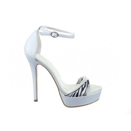 Sopily - Scarpe da Moda scarpe decollete Stiletto alla caviglia donna Moderno 13 CM - Bianco WL-ZJ-207 T 40 - UK 7 in OFFERTA su www.kellieshop.com Scarpe, borse, accessori, intimo, gioielli e molto altro.. scopri migliaia di articoli firmati con prezzi da 15,00 a 299,00 euro! #kellieshop Seguici su Facebook > https://www.facebook.com/pages/Kellie-Shop/332713936876989