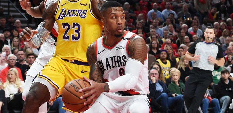 5ba29bd1f58 NBA Trade Rumors  Should LeBron James Recruit Damian Lillard To The Los  Angeles Lakers . According to Kevin O Connor of The Ringer