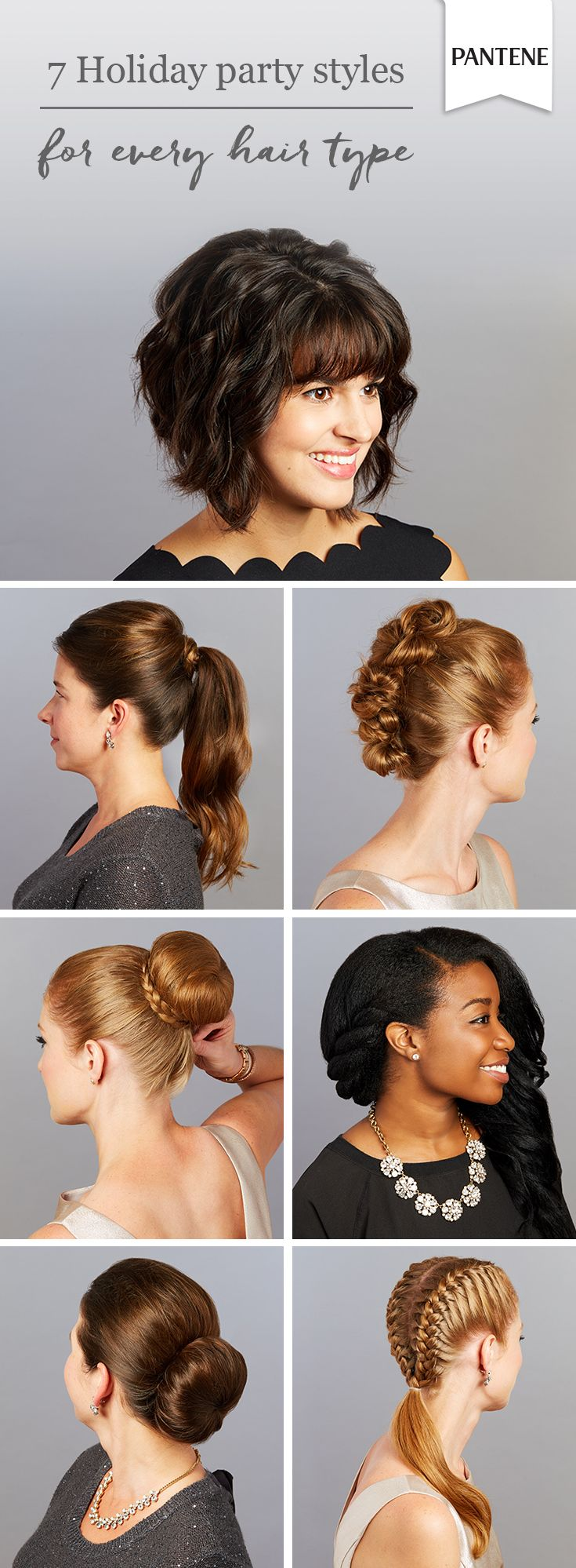 7 holiday for hairstyles parties