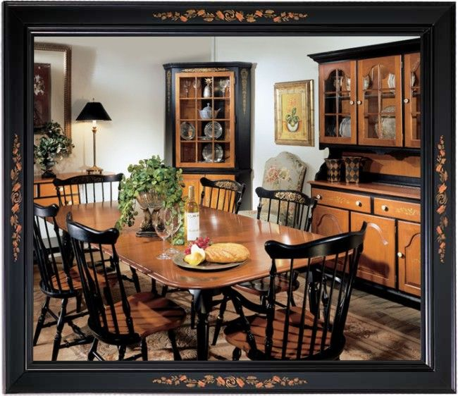 Colonial Dining Room Furniture: The Hitchcock Chair Company, Ltd.