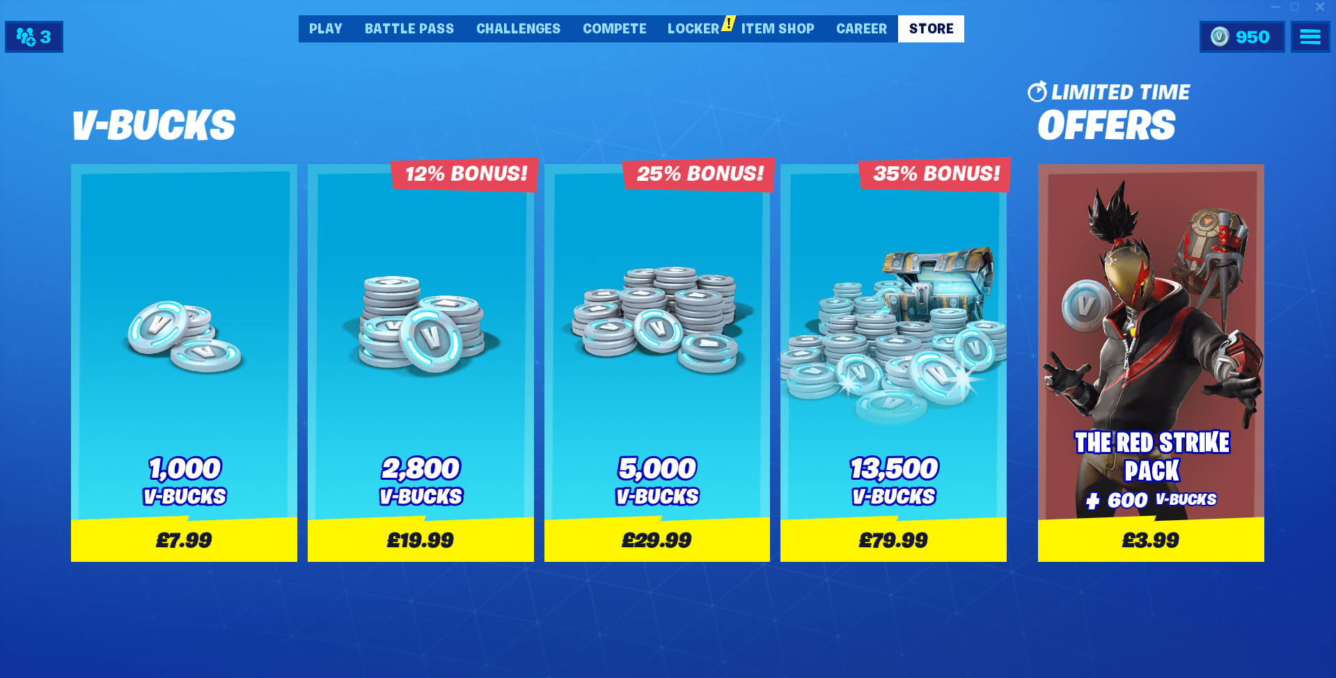 The Fortnite Red Strike Starter Pack Is Now Available Price Cosmetics The Fortnite Red Strike Starter Pack Is Now Available Fortnite Starter Pack Game Item
