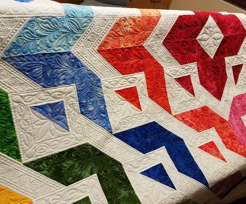 Dream Weaver - Lofty Quilt   Quilts, Quilt patterns, Quilt
