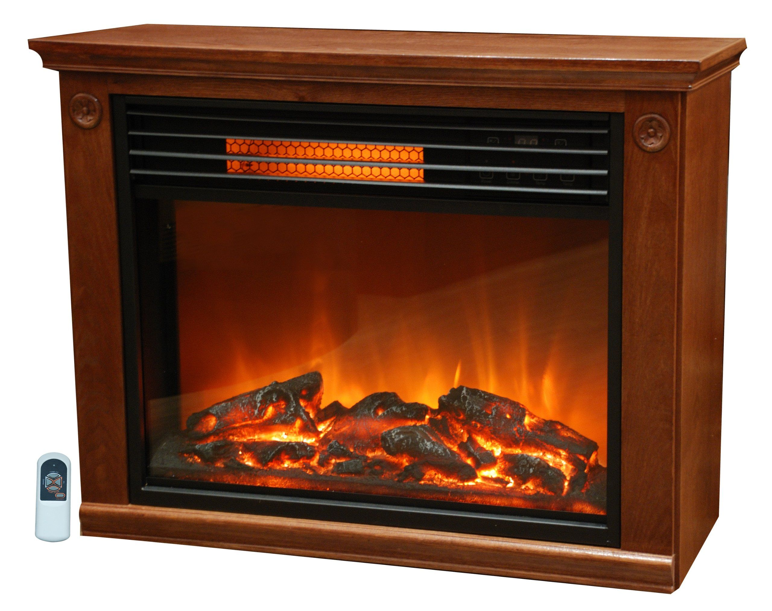Lifesmart Products Ls2001frp13 Infared Fireplace 1500 Watt