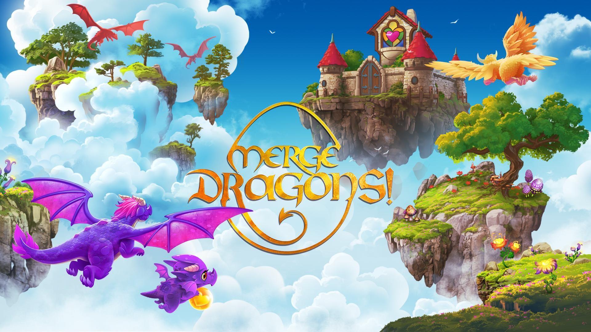 Free Download Merge Dragons MOD APK v4.6.0 (Unlimited Money)