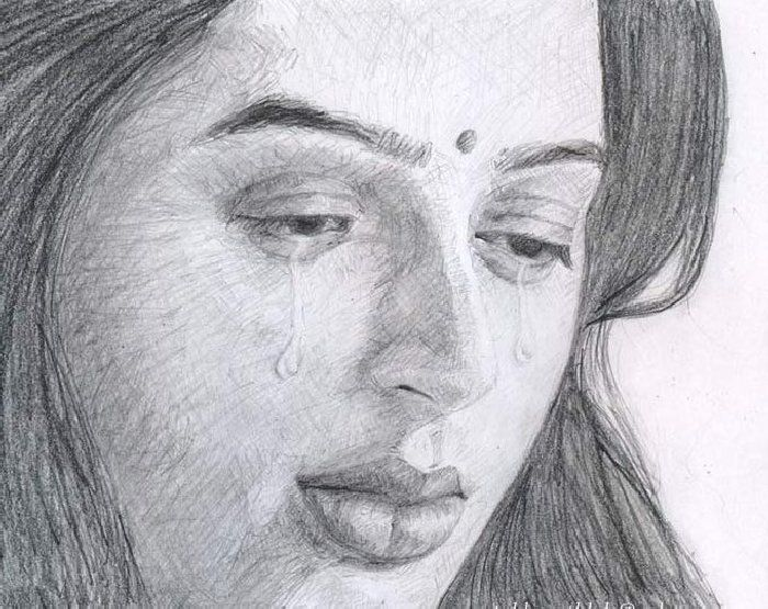 Actor And Actress Images In Pencil Sketch