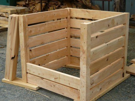 Wood compost bin (a compromise with the wife). | Food and Kitchen ...
