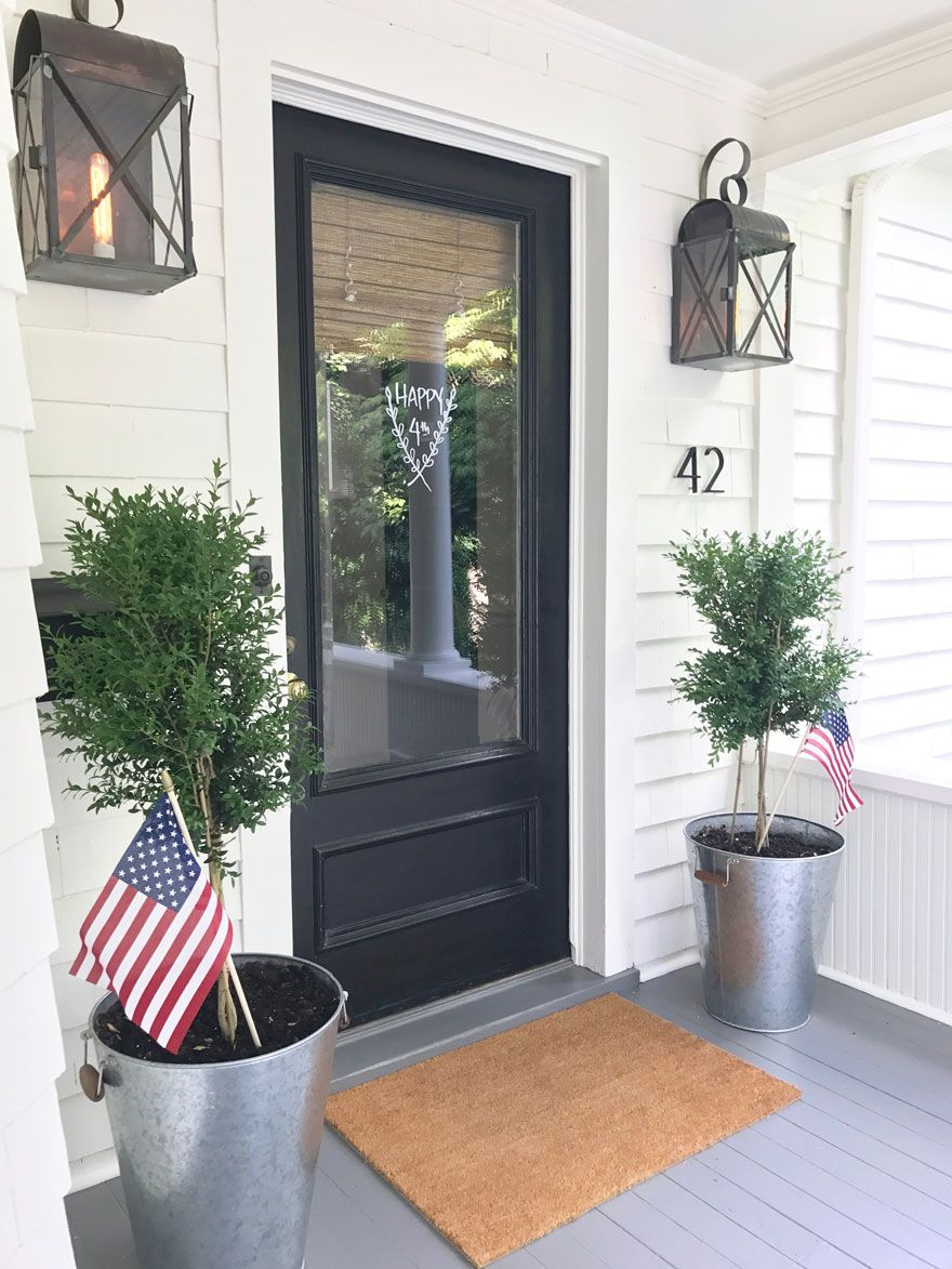 July Fourth Favorites Summer Pinterest Porch Doors And Glass Door