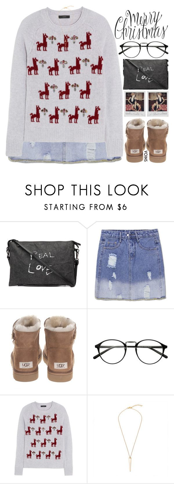 """""""at the end of the day, all we can and should do is love each other more than they can hate us"""" by exco ❤ liked on Polyvore featuring UGG and J.Crew"""