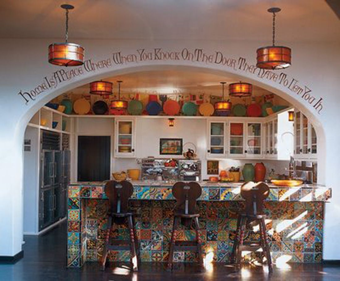 Spanish Style Decorating How To Decorate My Kitchen With Spanish