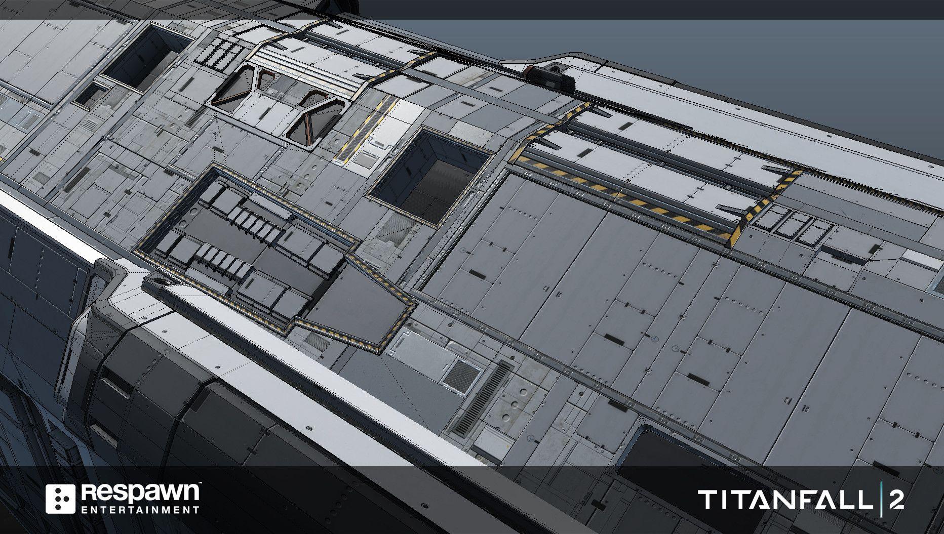 ArtStation - TITANFALL 2 SHIP to SHIP, Lewis Walden