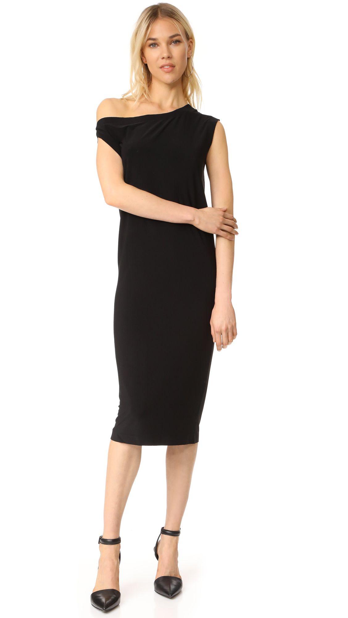 Norma kamali drop shoulder dress drop shoulder dress