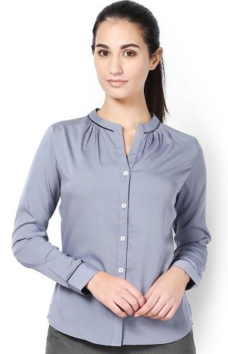 Buy Formal Shirts for Women Online, Ladies Corporate Shirts for ...