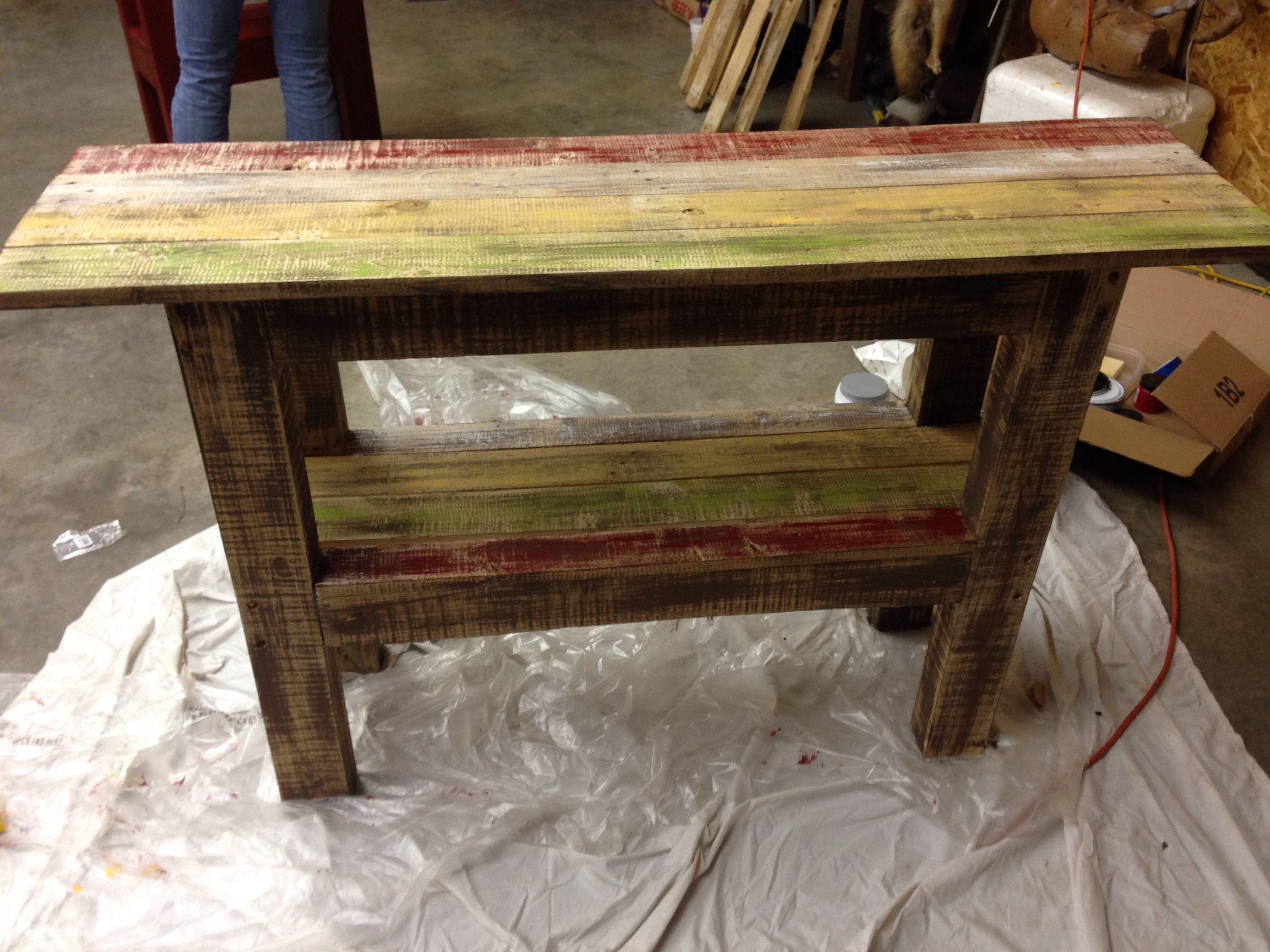 Diy primitive furniture - Pallet Tv Stand Diy