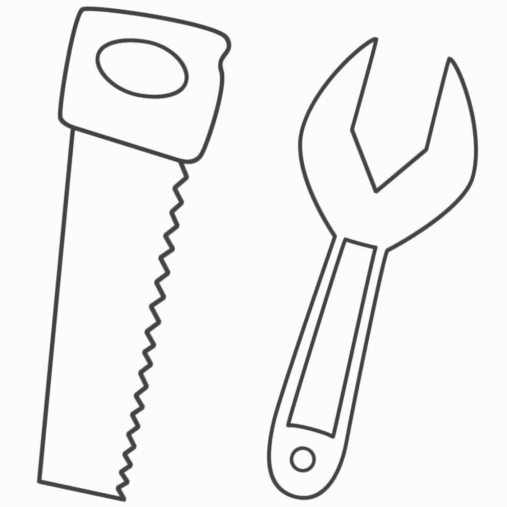 Tool Coloring Sheets Coloring Pages Coloring Sheets Maker Fun Factory