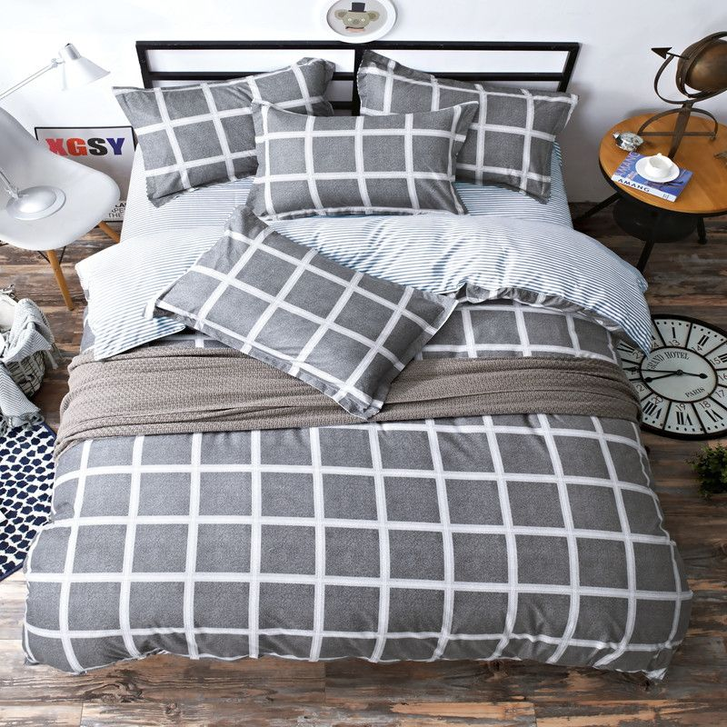 NIGHTS Diamond Plain Cotton Super Soft Flat Bedding Sheet Bolster Pillowcases Single Double King Super King Various Vibrant Colours Black, Double