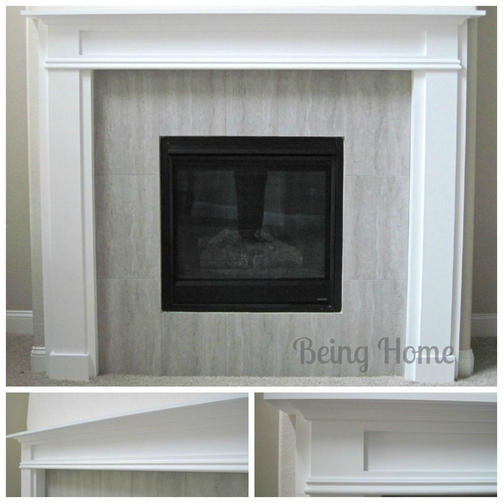 Fireplace mantel and surround do it yourself home projects from fireplace mantel and surround do it yourself home projects from ana white solutioingenieria Images