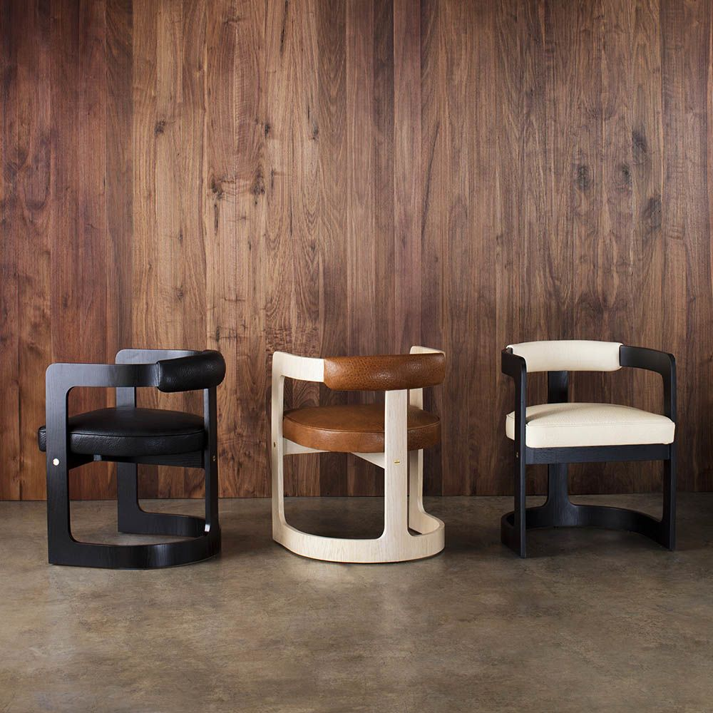 Zuma Dining Chair by Kelly Wearstler  Modern dining chairs