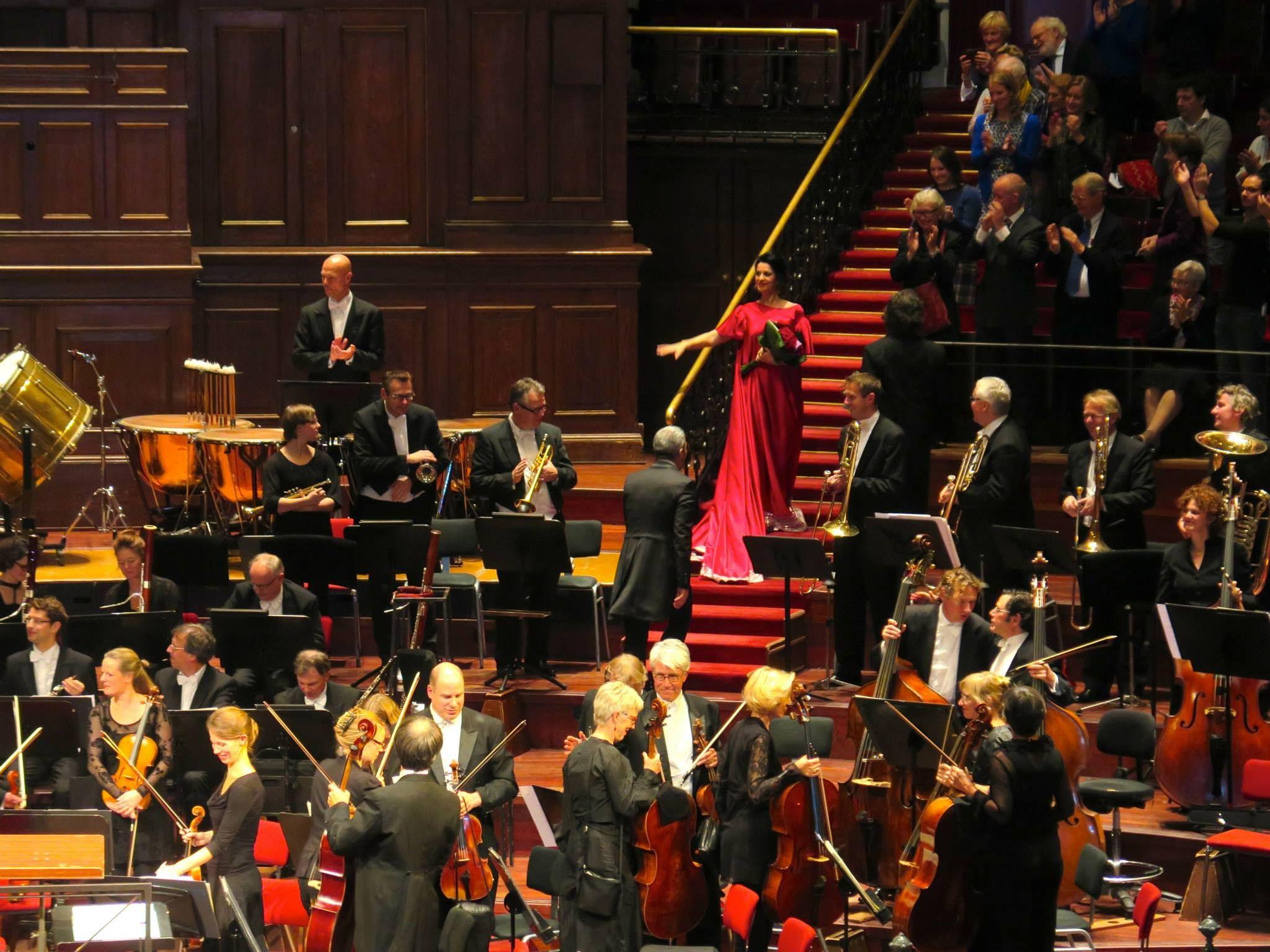Angela Gheorghiu en concierto. Amsterdam, Concertgebouw (Noviembre 2014)