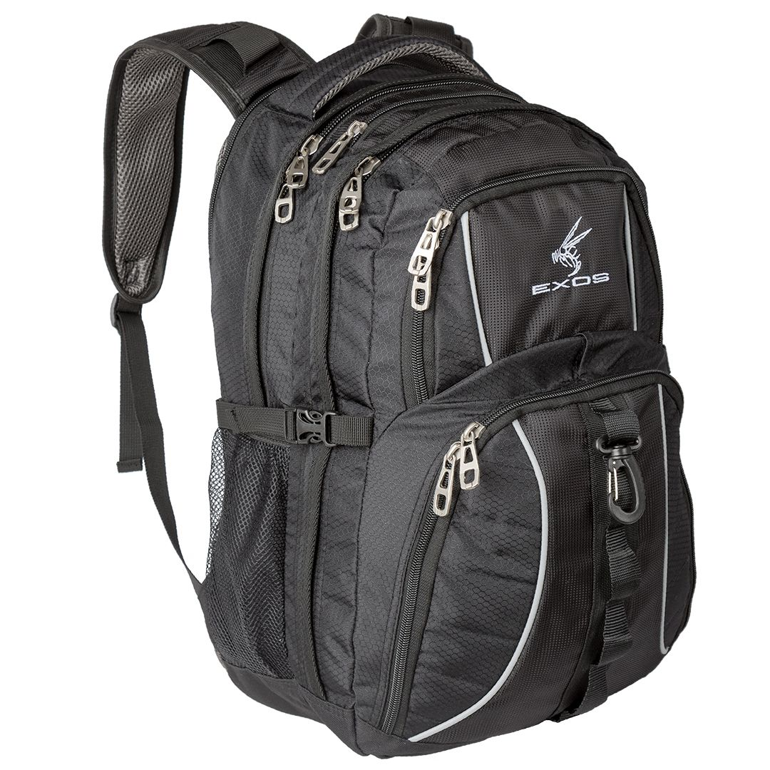 The Exos Commuter Backpack Is A High Functioning Multi Compartment Bag Purposely Designed With All Features Needed For Travel School Or Business