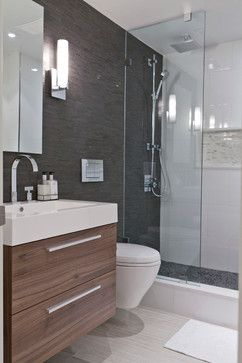 Grey Bathroom Design Ideas Pictures Remodel And Decor Ensuite Shower Room Modern Bathroom Trendy Bathroom