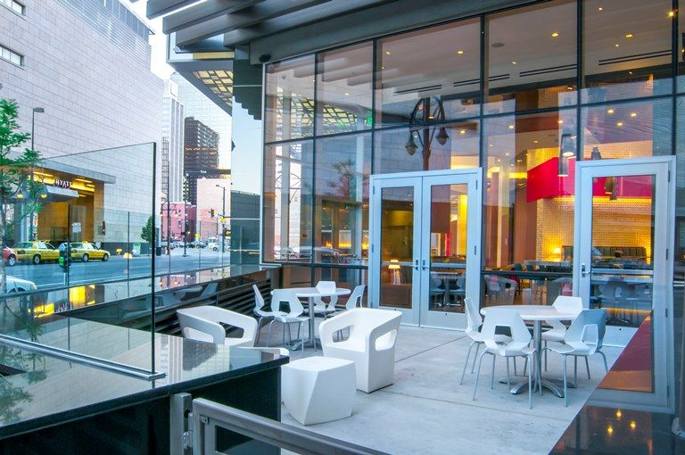 Hampton Inn Suites Denver Downtown Convention Center 550 Patio