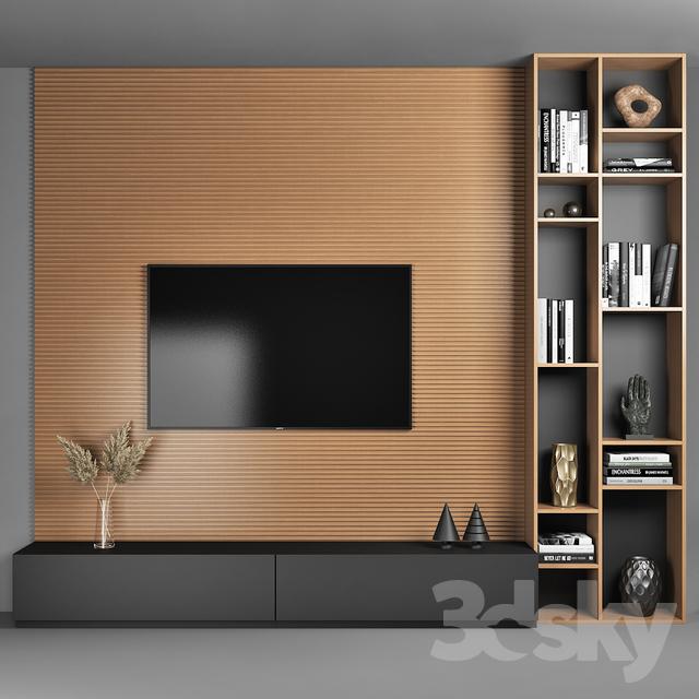 3d models: TV Wall - TV Wall 2