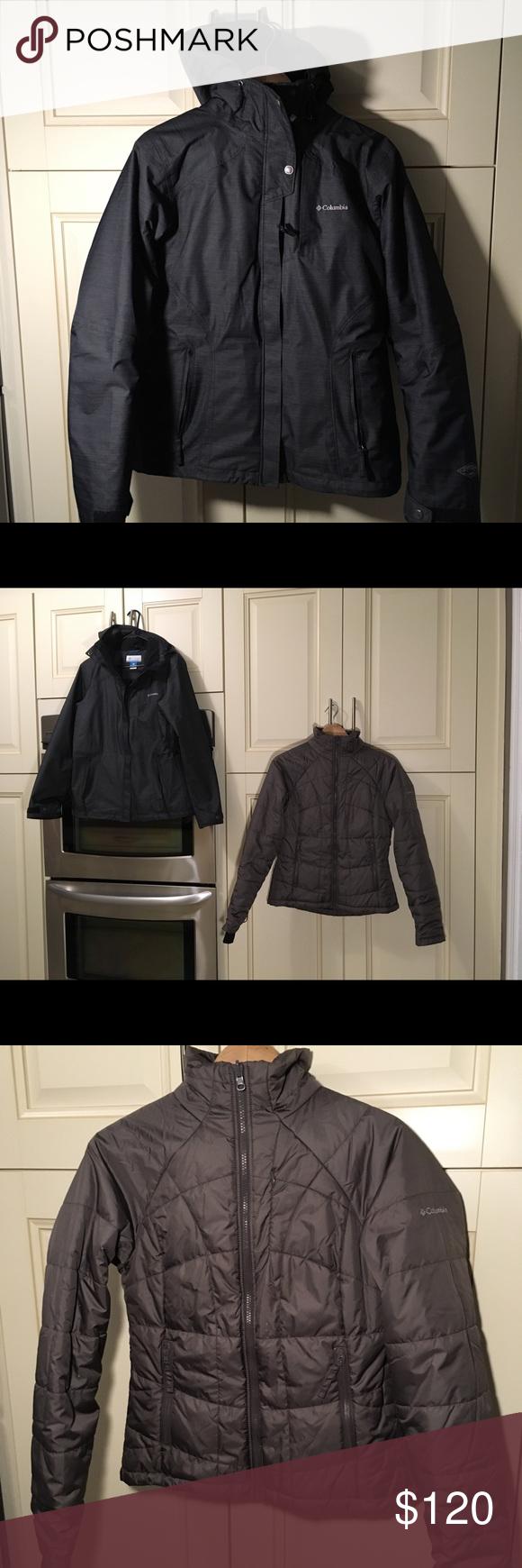 Columbia Ski Jacket 3 In 1 Women Insulated Ski Jacket Women Jackets