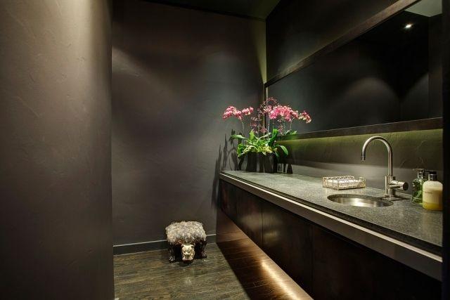 indirekte led beleuchtung bad hinter spiegel waschtisch - led beleuchtung badezimmer