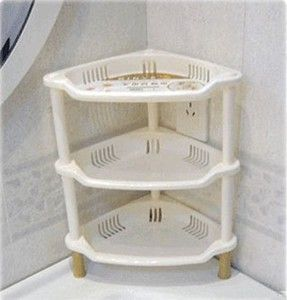 New 3 Tier Plastic Bathroom Kitchen Corner Triangle Shelf Rack Organizer Kitchen Corner Triangle Shelf Shelves