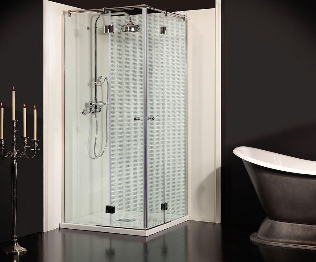 Corner Entry Shower Enclosures | Bathroom | Pinterest | Shower ...