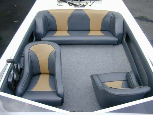Boat Upholstery, Recovers and Repairs | Boat Cabin Products