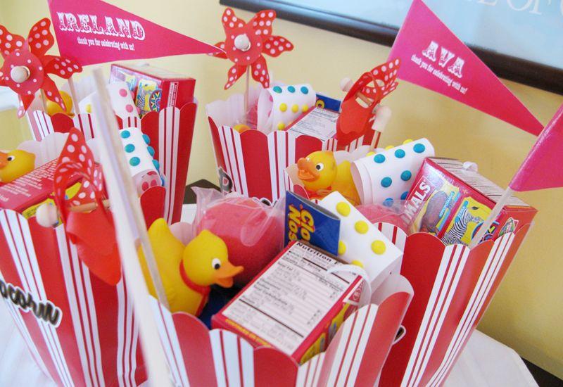 Red Aqua Carnival Birthday Party Invitations for Grace – Clown Birthday Party Invitations